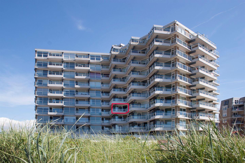 Situatie appartement binnen gebouw / Situation apartment within building /  Lage Wohnung im Gebäude
